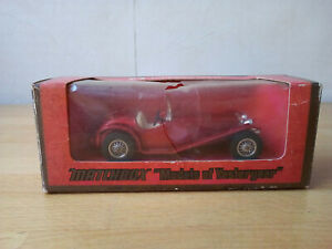 MATCHBOX: Models of Yesteryear 1934 RILEY MPH