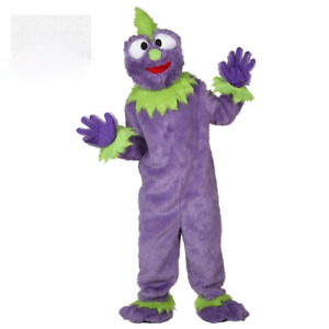 Purple Plush Monster Mascoct Cosplay Halloween Carnival Stage Performance Play