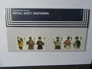 2009 G.B Presentation Pack - Royal Navy Uniforms - Pack 431