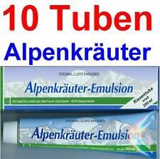 (17,40 EUR / 1Ltr.) LLOYD Alpenkräuter Emulsion Creme 10 x 200 ml