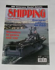 SHIPPING TODAY AND YESTERDAY APRIL 2006 - DISASTERS IN PEACE AND WAR