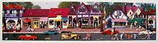"""ALEXANDER CHEN """"DELORES STREET CARMEL"""" Hand Signed Limited Edition Serigraph"""