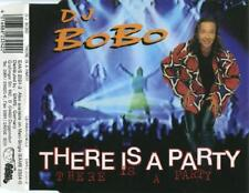 DJ BOBO There is a Party RARE REMIXES 4trx GERMAN CD