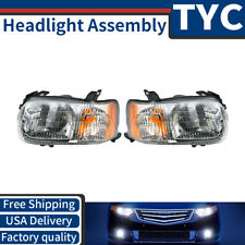 TYC 2X Left + Right Headlight Assembly Replacement Kit For 2001-2004 Ford Escape