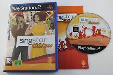 PLAY STATION 2 PS2 SINGSTAR CLASICOS COMPLETO PAL ESPAÑA
