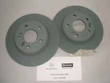 Genuine Mercedes-Benz W246 B-Class W176 A-Class REAR Brake Discs A2464230012 NEW