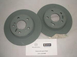 Genuine Mercedes-Benz W246 B-Class W176 A-Class REAR Brake Discs A2464230012 NEW