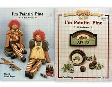 Tole & Decorative Painting I'm Paintin' Pine Vol. 3 & 5 by Carol Ropp