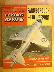 RAF Flying Review Magazine November 1962 Hawker P.1127 Grumman Albatross