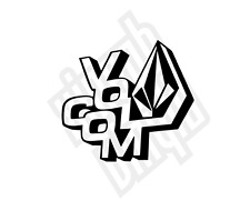 Volcom vinyl sticker decal car skin mac surf skate custom colour dc vans fsas