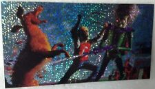 1996 Topps Mars Attacks Holo-Foil widevision MA-6 Card NM/VF 4 3/4x 2 1/2