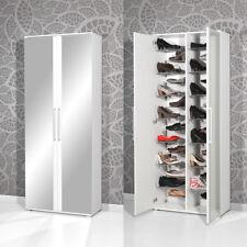 Schuhschrank 3107 Garderobe Garderobenschrank in weiß mit Spiegel von Germania