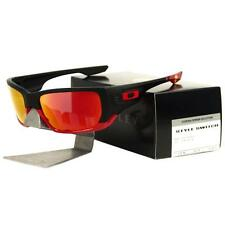 mens glasses oakley xhx4  Oakley OO 9194-24 SCUDERIA FERRARI STYLE SWITCH Matte Black Ruby Mens  Sunglasses