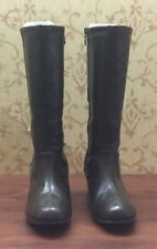 Buster Brown Boots US 6M Brown Knee High 2.25 Inch Heel 14 Inches Tall