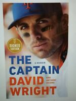 david wright signed book autographed PRE ORDER 10/13 the captain hardcover hc 1