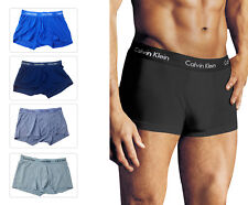 Calvin Men's Underwear Micro Modal Trunk U5554 Seamless Boxer Bottoms WITH BOX
