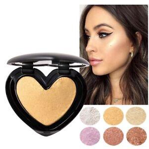 6 Colors Highlighter Powder Makeup Face Contour Shimmer Glow Cosmetics Bronzer