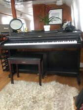 More details for digital roland piano with stool