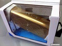 Braven BLUXLBP Lux Bluetooth IPX5 tragbare Lautsprecher mit Powerbank Box, GOLD