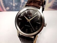 RELOJ CLASSIC ELGIN STEEL AUTOMATIC MEN'S WATCH