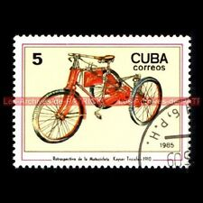 Kayser tricycle triciclo 1910-moto postage stamp