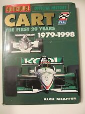 Cart The First 20 Years Book Autocourse Official History 1979-1998 Rick Shaffer