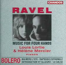 RAVEL: MUSIC FOR FOUR HANDS NEW CD