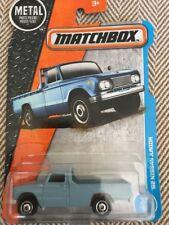 2018 Matchbox 1962 Nissan Junior Blue Pickup Truck