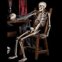 Skeleton Halloween Props Life Hanging Size Prop Haunted House Decoration Haunted