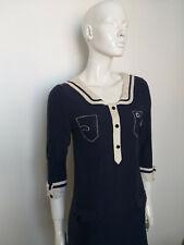 G-Star rivca Vestido Vestido de punto azul manga 3/4 Talla L