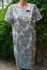 Liz Jordan LUXE Cocktail DRESS Size 16.Sequin Lace Overlay BEIGE RRP$249.95