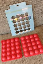 M&S home silicone cake pop moulds makes 20 cake pops - never used