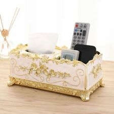 Tissue Holder Organizer Box Stylish Vintage Designs Use For Storage And Displays