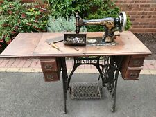 More details for singer sewing machine cast iron base