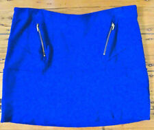 Straight, Pencil Solid 100% Wool Skirts for Women