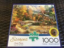Buffalo ~ Escapes Chuck Pins on Call Of The Wild ~ 1000 Piece Puzzle  ~ MIB