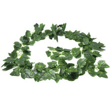 Artificial Silk Grape Leaf Garland Vine Foliage, Green, 90-Inch