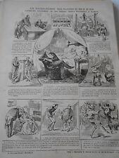 1876 PELE MELE de dessins Les Hourdis-Journet pour planchers en Fer et en Bois