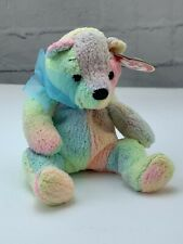 TY Beanie Babies Collection Retired Mellow Colorful Bear December 7, 2000