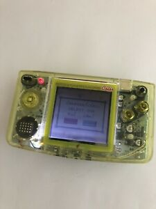 SNK Neo Geo Pocket Color Console Crystal Yellow Japan