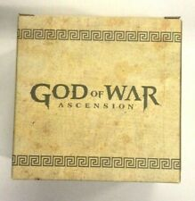 PS3 GOD OF WAR ASCENSION BONUS GIFT STAINLESS STEEL MUG!  RARE!! ASIA EXCLUSIVE!