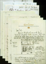 More details for jimi hendrix repro 1968 electric ladyland layout hand written signed letters