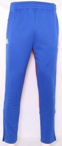NEW Kansas KU Jayhawks Adidas Blue Warm Up Pants Athletic Tie Men's M