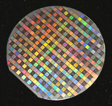 6 inch silicon wafer - 1988 DS2064/DS9064 64K memory chips + test devices