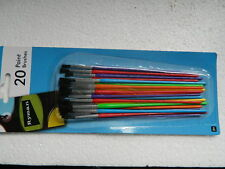 """(A1.9) SET OF 20 CRAFTING PAINT BRUSHES """" SPECIAL OFFER"""""""