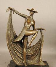 D.H.Chiparus! art deco dancer bronze statue