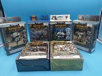 lot de 6 boites figurines warmachine neuf type 40K