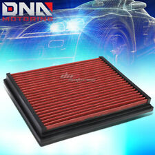 FOR A4/A6/S4/S6/QUATTRO RED REPLACEMENT RACING DROP IN AIR FILTER PANEL