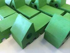 RubberXpress NEW Green Rubber feet for Flower Pots - 24 pack