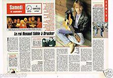 Coupure de presse Clipping 1988 (2 pages) Renaud Sechan